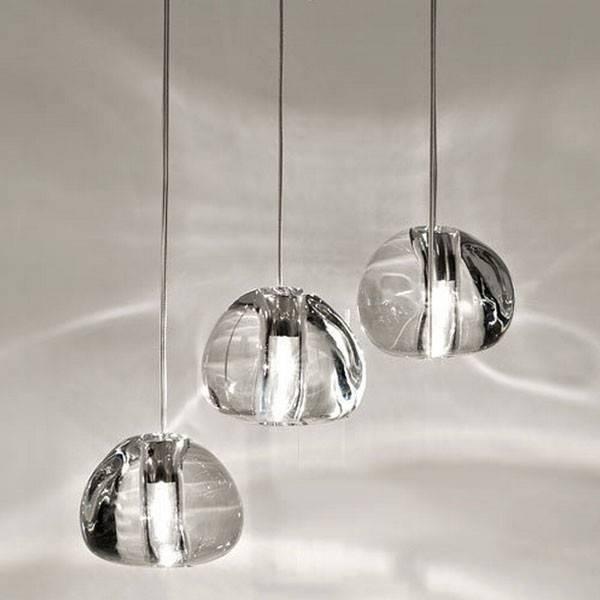 Mizu Five Lights Suspensionterzani At Lighting55 – Lighting55 With Mizu Lighting (#6 of 15)