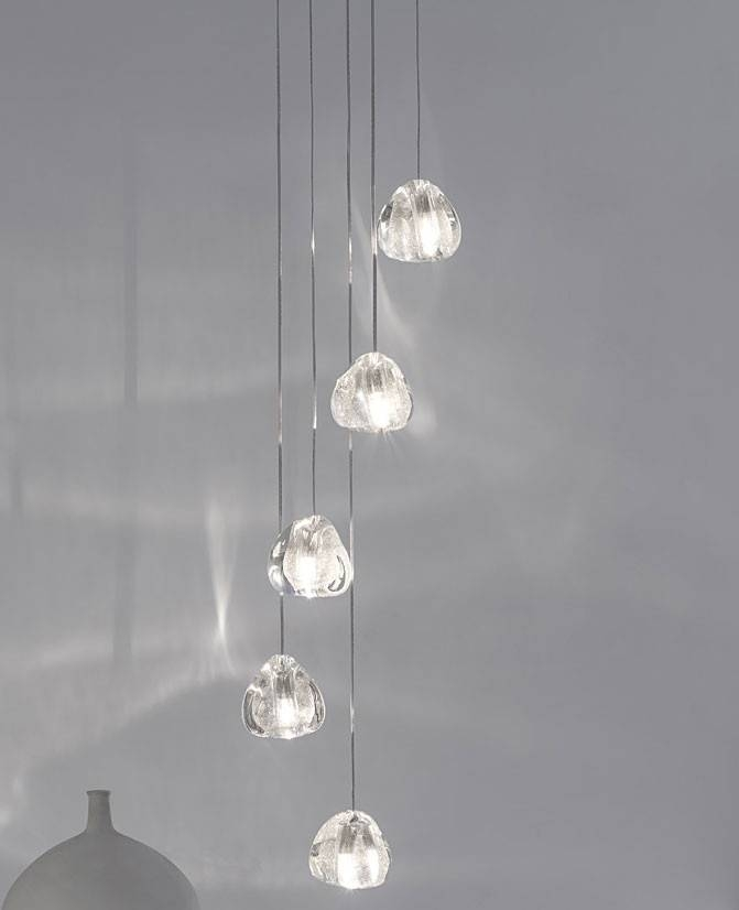 Mizu Five Pendant Lightterzani | Interior Deluxe With Regard To Mizu Pendant Lights (#8 of 15)