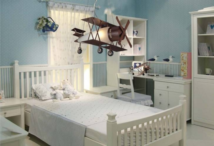 Modern Attractive Airplane Light Fixture Concept For Kids Room Pertaining To Airplane Pendant Lights (View 9 of 15)