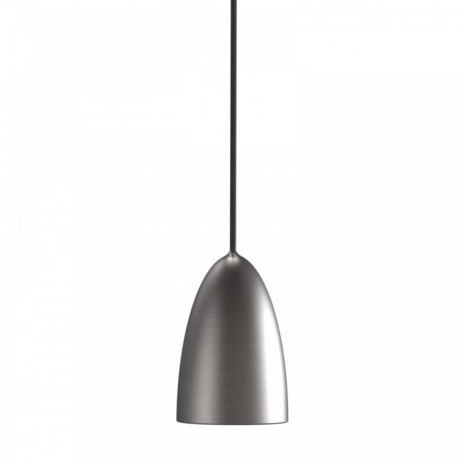 Modern Ceiling Pendant, Double Insulated Pertaining To Brushed Steel Pendant Lights (#5 of 15)