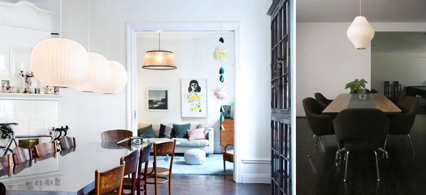 Modern Interior Design: Mid Century Modern Lights – Retro Lighting Inside Nelson Pendant Lights (View 13 of 15)