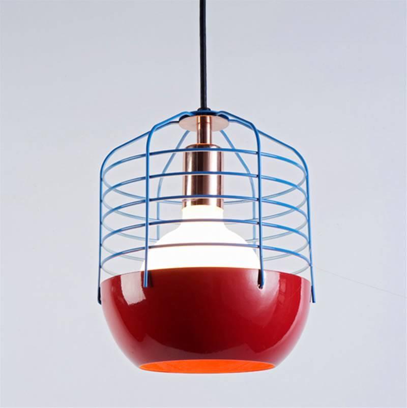 Modern Pendant Light Design For Home Interior Lighting, Bluff City Intended For Modern Red Pendant Lighting (#14 of 15)
