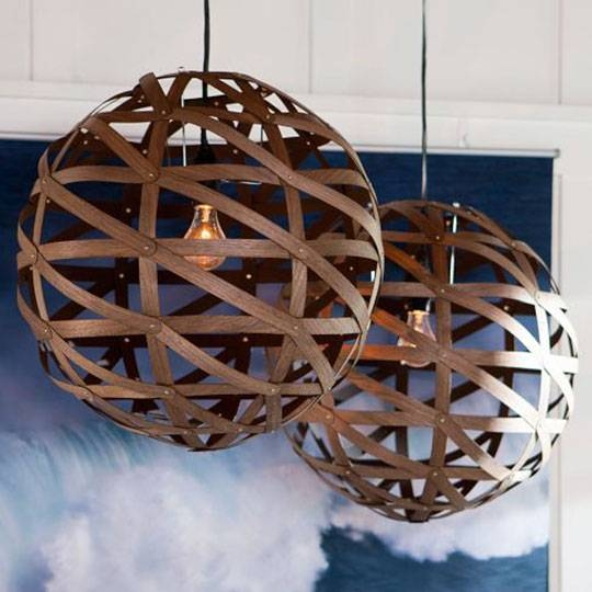Modern Round Pendant Lights — Eatwell101 With Bentwood Pendants (#11 of 15)