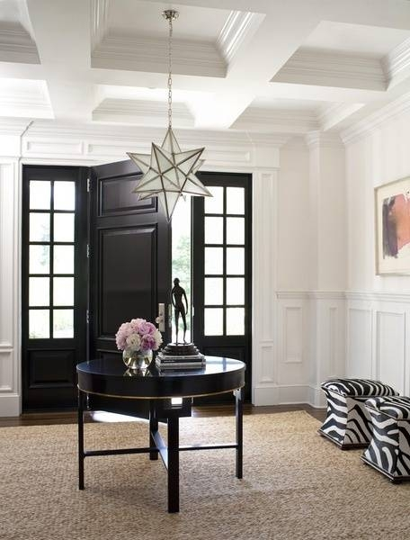 Moravian Star Pendant Lights | Through The Front Door In Entry Hall Pendant Lighting (#10 of 15)