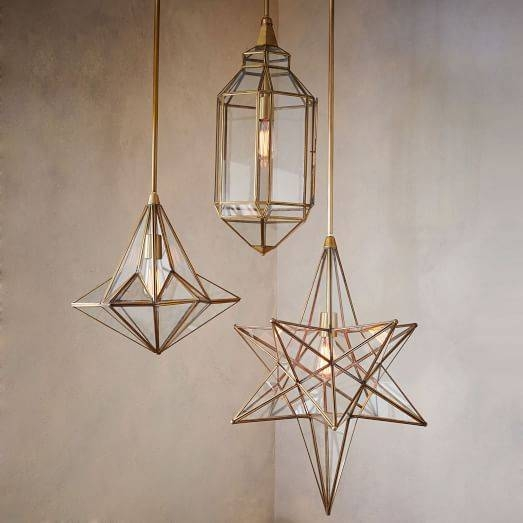 Moroccan Glass Pendants | West Elm Within West Elm Glass Pendants (View 13 of 15)