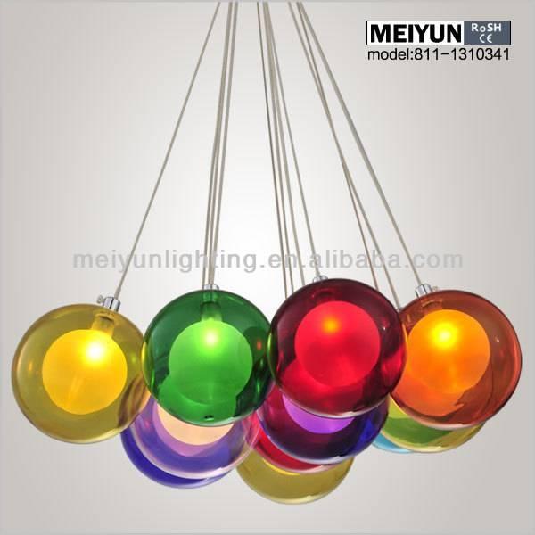 Multi Color Glass Pendant Light – Buy Glass Pendant Light,glass With Regard To Coloured Glass Lights (#13 of 15)