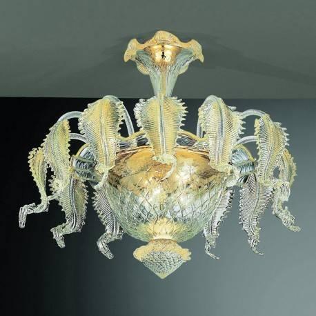Murano Ceiling Light – Murano Glass Ceiling Light Fixtures In Murano Lights Fixtures (#6 of 15)