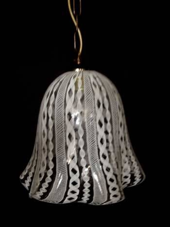 Murano Glass Lighting – Filigree – Own Production With Original For Murano Glass Lights Pendants (#7 of 15)