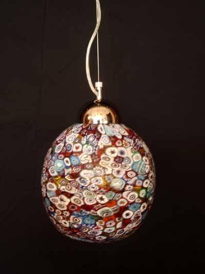 Popular Photo of Murano Glass Lights Pendants
