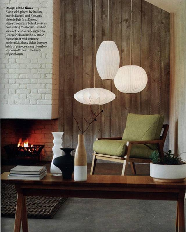 15 best ideas of george nelson pendant lights nelson bubble lamp 12 of 15 aloadofball Images