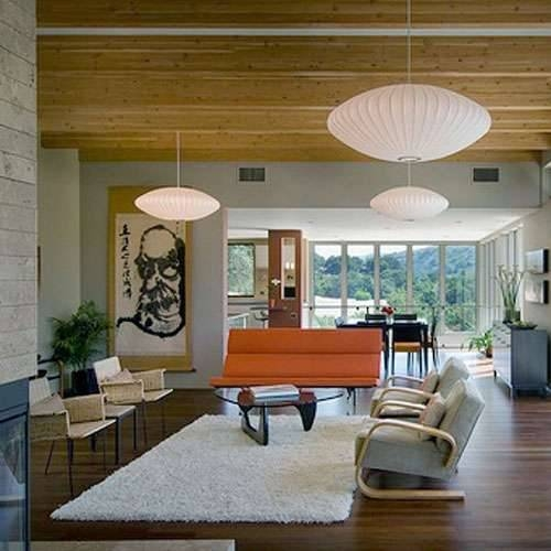 Popular Photo of George Nelson Pendant Lights
