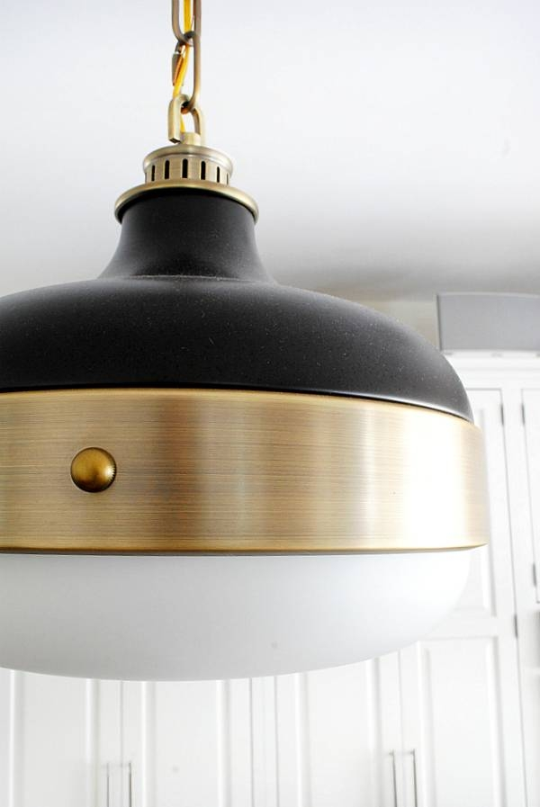 New Kitchen Pendants – The Chronicles Of Home In Black And Gold Pendant Lights (#11 of 15)