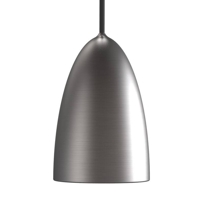 Nexus 10 Pendant – Brushed Steel – Lighting Direct Inside Brushed Steel Pendant Lights (#6 of 15)