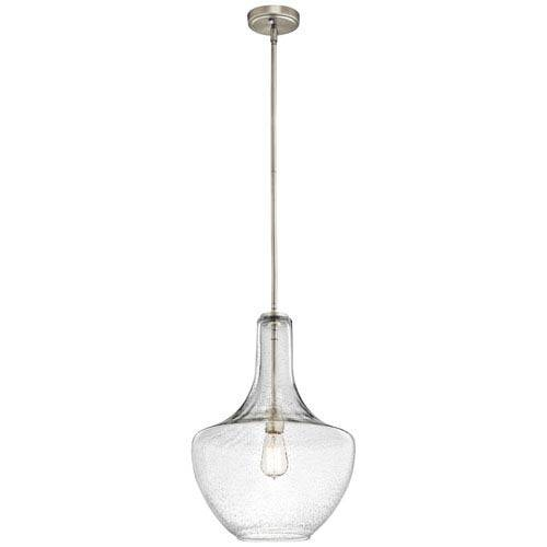 Nickel Brushed Pendant Lighting | Bellacor Intended For Brushed Nickel Pendant Lights (View 13 of 15)