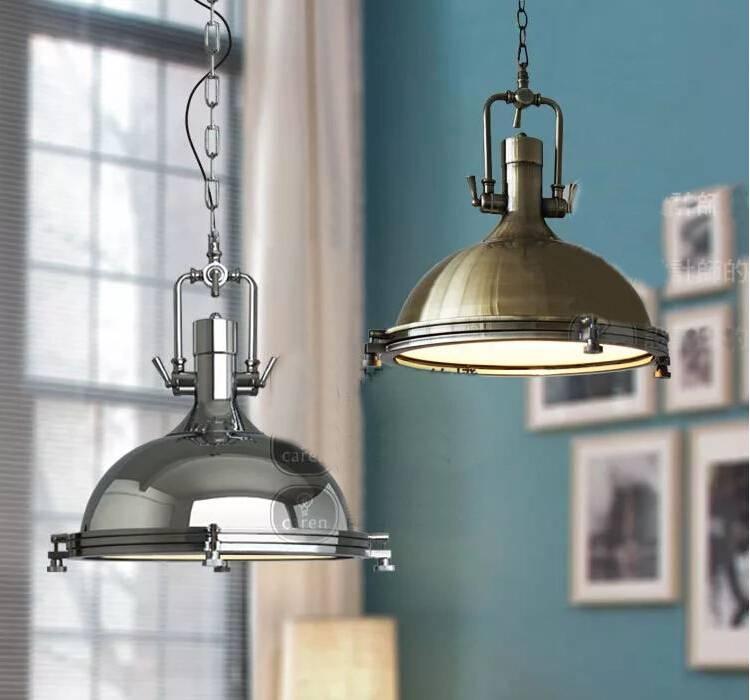 Nordic Retro Rh Loft Pendant Lights American Industrial Bar Lamps Throughout Harmon Pendant Lights (View 11 of 15)