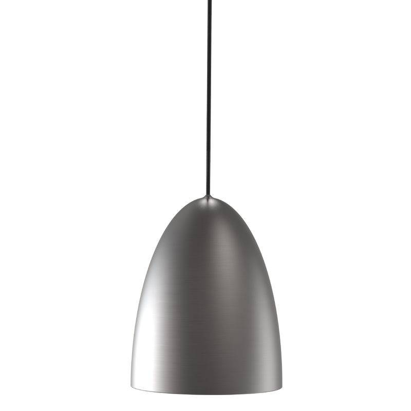 Nordlux Nexus 20 Ceiling Pendant Light – Brushed Steel – Pendant Inside Brushed Steel Pendant Lights (#12 of 15)