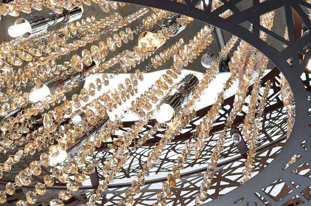 Nowlighting Offers: Et2 Lighting Et 133363 Lighting Bronze Et2 Pertaining To Et2 Inca 9 Lights Pendants (View 5 of 15)