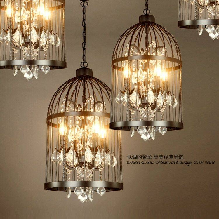 Online Buy Wholesale Birdcage Chandelier From China Birdcage In Birdcage Pendant Light Chandeliers (#13 of 15)
