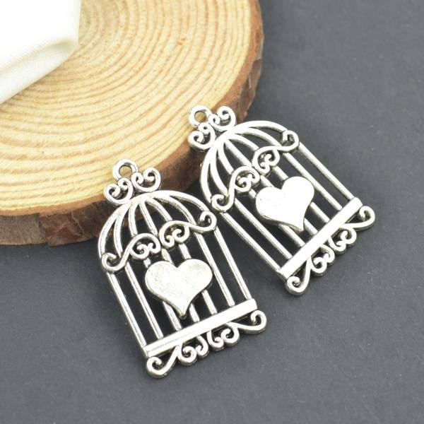 Online Buy Wholesale Birdcage Charm From China Birdcage Charm In Birdcage Pendants (#6 of 15)