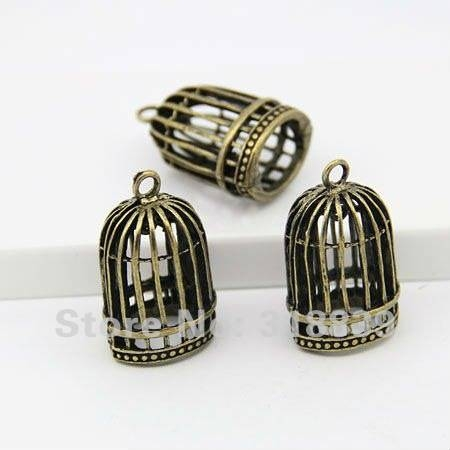 Online Buy Wholesale Birdcage Charm From China Birdcage Charm Throughout Birdcage Pendants (#7 of 15)