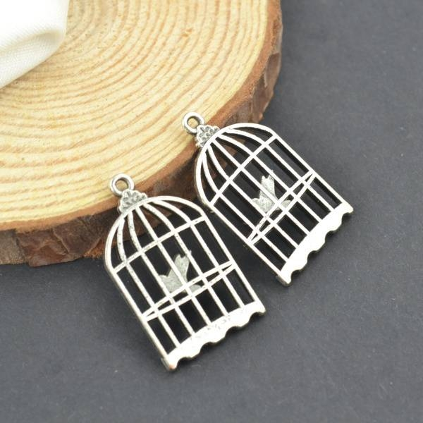 Online Get Cheap Birdcage Jewelry  Aliexpress | Alibaba Group Throughout Birdcage Pendants (#11 of 15)