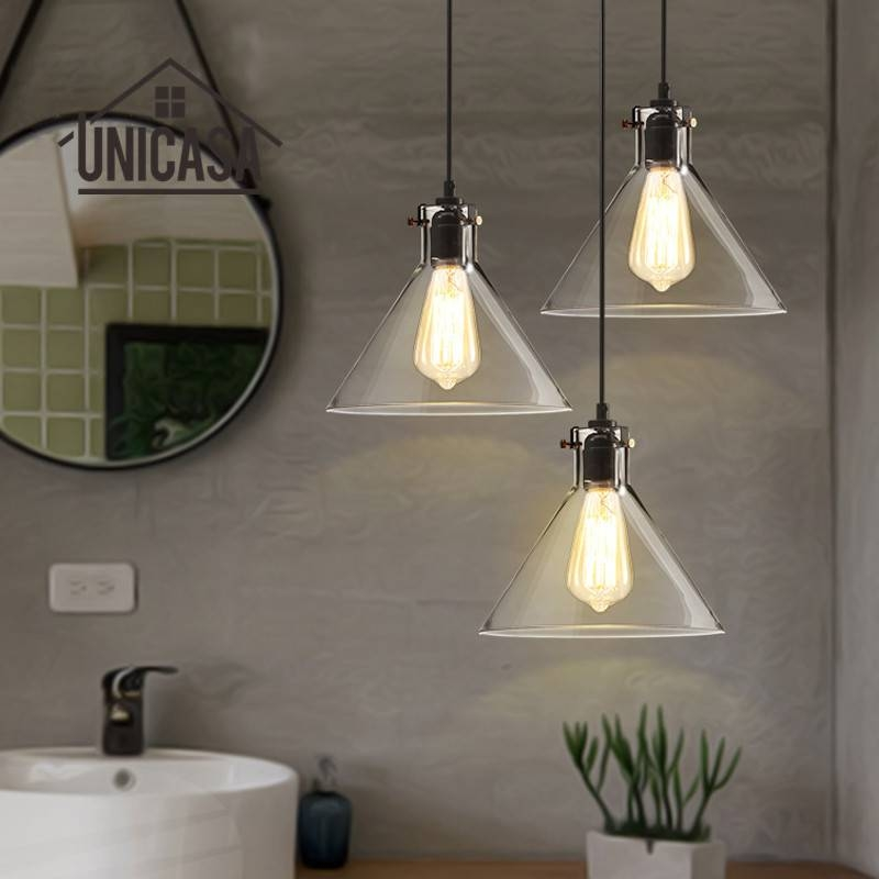 Online Get Cheap Mini Pendant Light Shades Glass Aliexpress Regarding Discount Mini Pendant Lights (View 10 of 15)