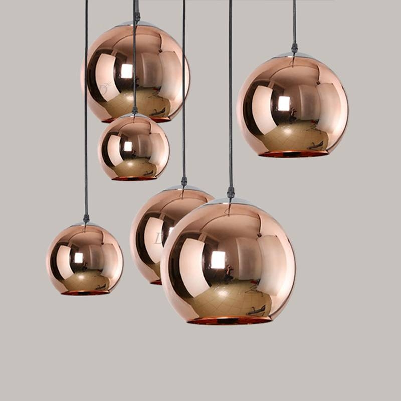 Online Get Cheap Mini Pendant Light Shades Glass Aliexpress With Regard To Discount Mini Pendant Lights (View 11 of 15)