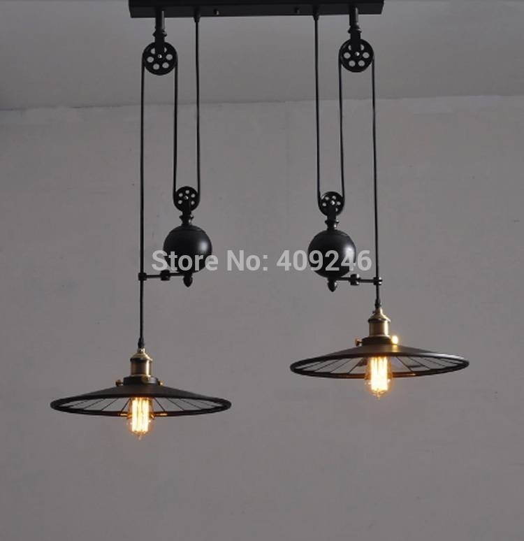 Online Get Cheap Pulley Ceiling Light  Aliexpress | Alibaba Group With Regard To Double Pulley Pendant Lights (#11 of 15)