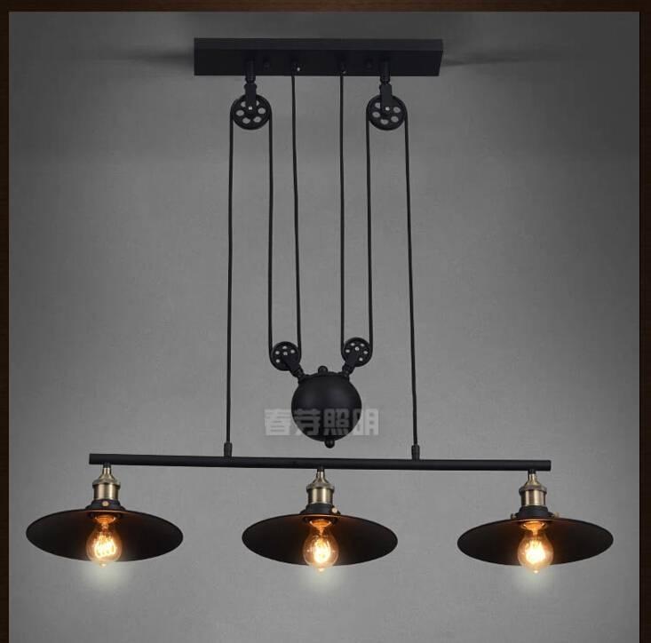 Online Get Cheap Pulley Light Fixtures  Aliexpress | Alibaba Group Regarding Pulley Pendant Light Fixtures (#15 of 15)