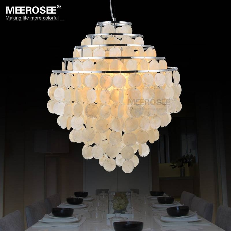 Online Get Cheap Shell Pendant Light Shade  Aliexpress With Regard To Shell Light Shades Pendants (#7 of 9)