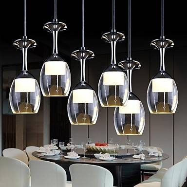 Online Get Cheap Wine Glass Pendant Light  Aliexpress Throughout Wine Glass Pendant Lights (#12 of 15)