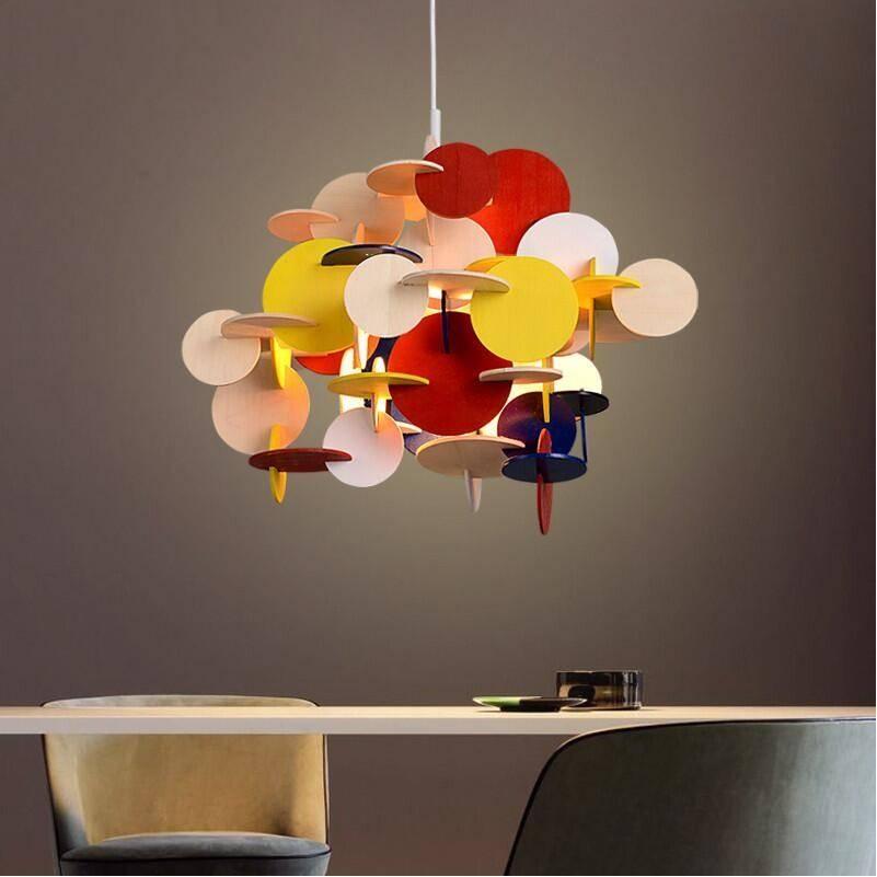 Online Get Cheap Wooden Pendant Light Diy  Aliexpress In Diy Multi Pendant Lights (#14 of 15)