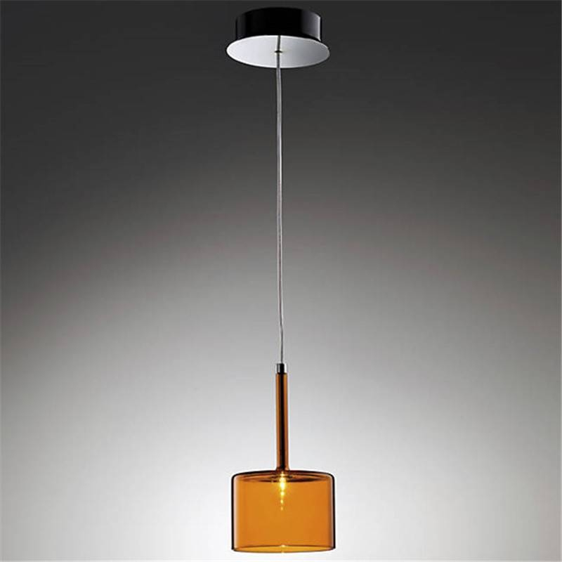 15 Ideas Of Orange Glass Pendant Lights