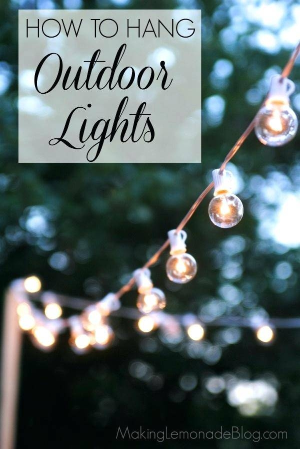 Outdoor Patio String Light Bulbs Outdoor Patio String Lights Globe Inside Lowes Outdoor Hanging Lights (View 11 of 15)