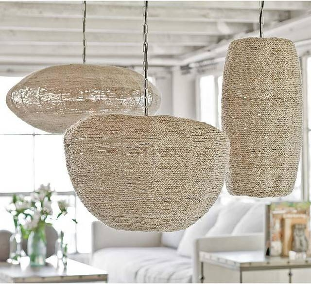 Outfit A Beach House From Deck To Drawer Knobs In Beach Pendant Lights (#14 of 15)