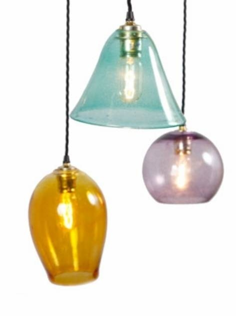Outstanding Chantelle Lighting Bespoke Lighting Uk Coloured Glass Within Coloured Glass Pendant Light (#14 of 15)
