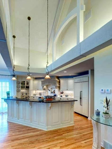 kitchen lighting ideas for vaulted ceilings 15 collection of vaulted ceiling pendant lighting 9488