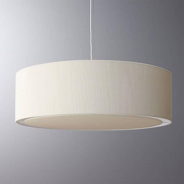 Oversized Equator Pendant Light | Cb2 For Barrel Pendant Lights (#12 of 15)