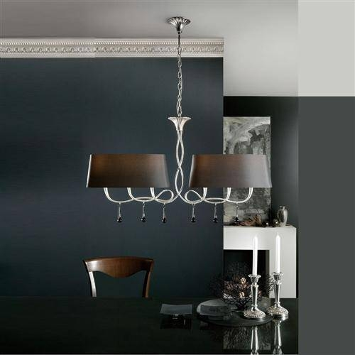 Paola 6 Light Multi Arm Pendant M0531 | The Lighting Superstore Intended For Multi Arm Pendant Lights (#12 of 15)