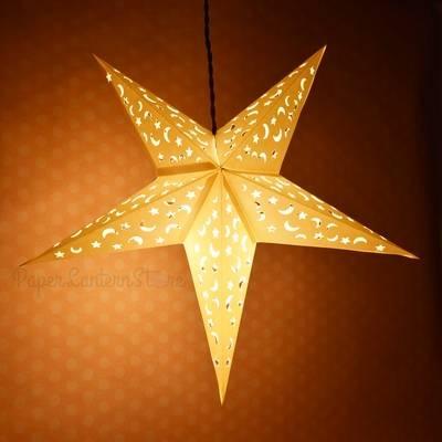 Popular Photo of Paper Star Pendant Lights