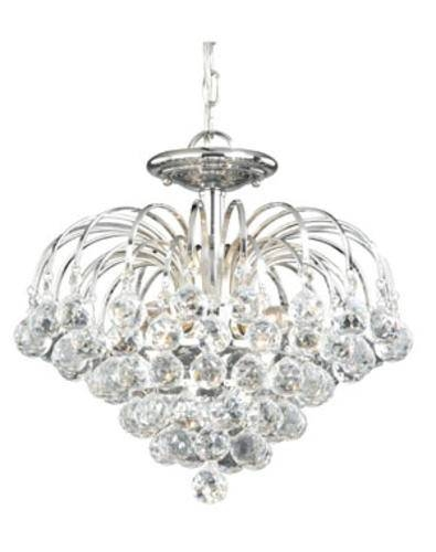 """Patriot Lighting® Edwardian 16"""" Chrome Contemporary 4 Light Intended For Patriot Lighting Pendants (View 11 of 15)"""