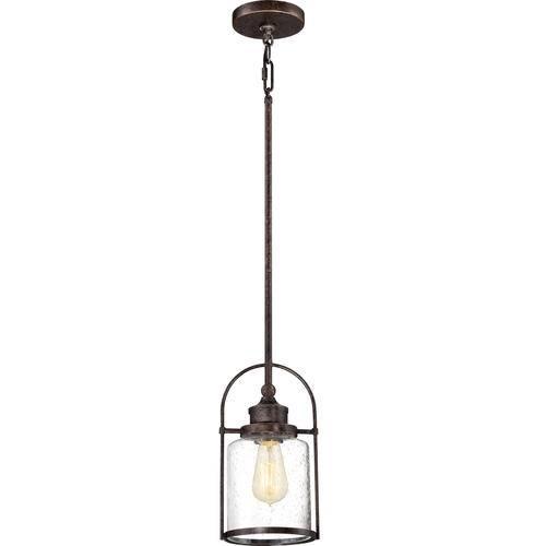"Patriot Lighting® Resto 6 1/2"" Imperial Bronze 1 Light Mini Regarding Patriot Pendant Lighting (#13 of 15)"