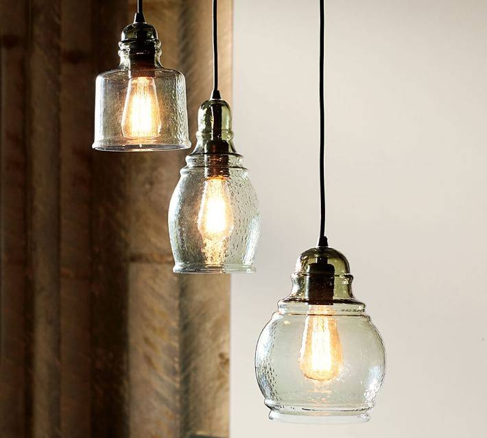 Paxton Glass Single Pendants | Pottery Barn With Regard To Paxton Glass Pendants (#10 of 15)