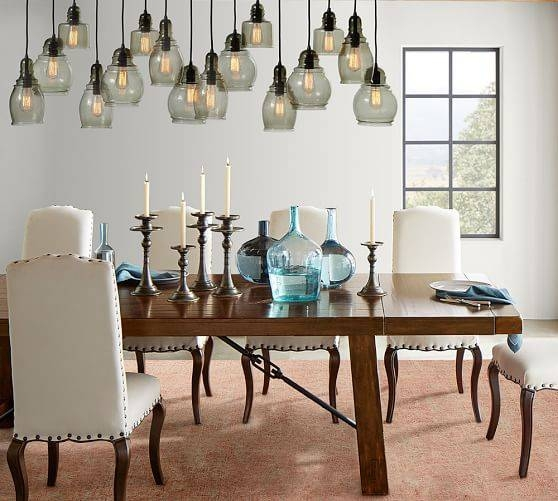 Paxton Pendants | Pottery Barn Inside Paxton Glass Pendants (#11 of 15)