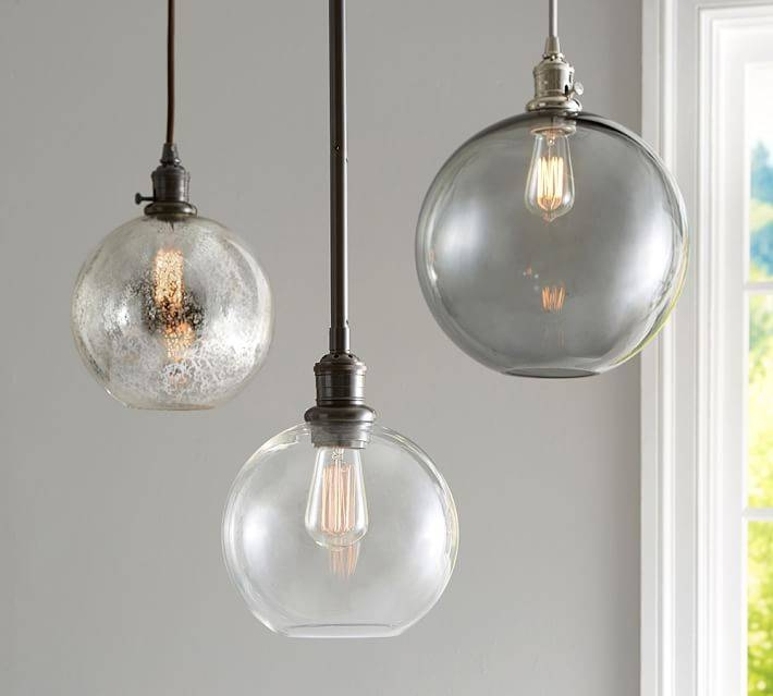 15 Collection Of Mercury Glass Globes Pendant Lights