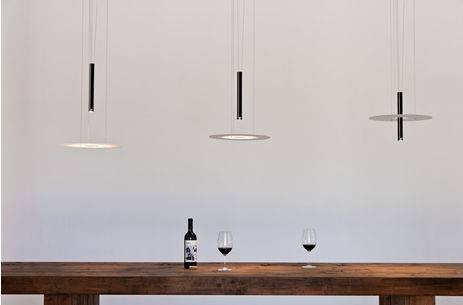 Pendant Lamp / Contemporary / Glass / Aluminum – D & Dben Intended For Counterweight Pendant Lights (#12 of 15)