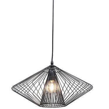 Pendant Lamp Modo Wire Round – England At Home Throughout Corded Pendant Lights (#10 of 15)