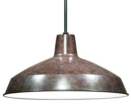 Pendant Light Fixture Industrial Style Old Bronze Metal Nuvo Throughout Industrial Looking Pendant Light Fixtures (#14 of 15)