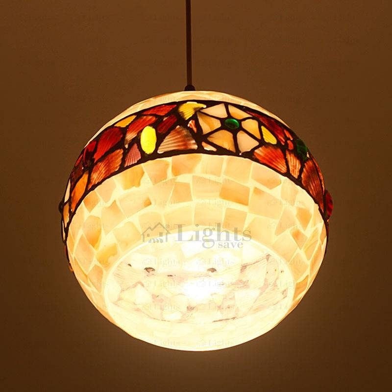 Pendant Light Shade Shell Shade Pertaining To Shell Lights Shades Pendants (View 13 of 15)