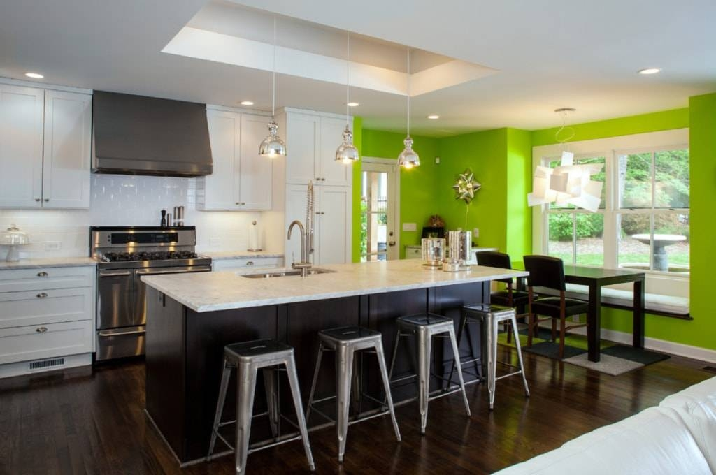 Pendant Light Your Kitchen Island – Tips And Tricks To Play With Pertaining To Green Kitchen Pendant Lights (#13 of 15)